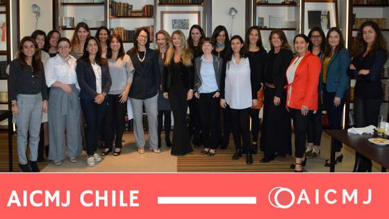 Se reúne el capítulo chileno de la AICMJ